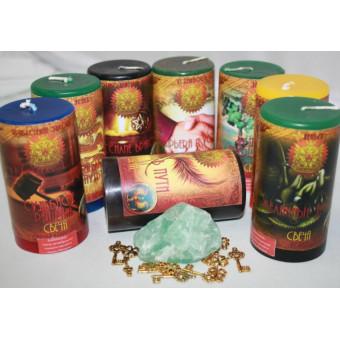 "Набор ""Бизнес магия"" (8 свечей)"
