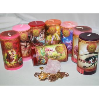 """Набор свечей  """"Любовная магия – привлечение и поиск"""""""