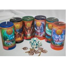 """Набор """"Магическое целительство"""" (6 свечей)"""