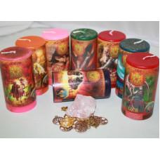"""Набор """"Магия семьи – гармония и порядок"""" (8 свечей)"""