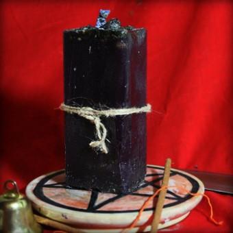 """Обрядовая свеча """"Выжигатель воли"""""""