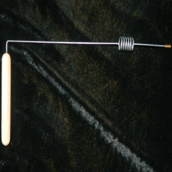 Биолокационная рамка с резонатором (сталь)